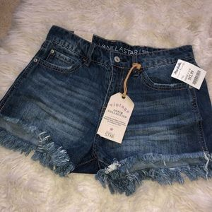 NWT DENIM SHORTS